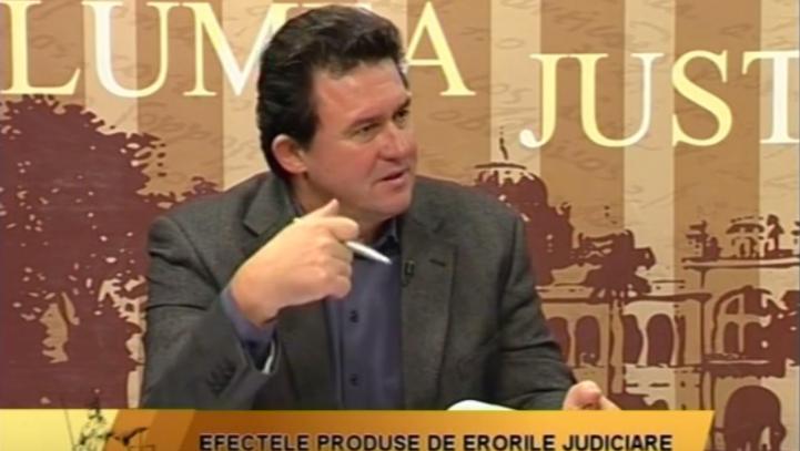 12 octombrie 2015 – Lumea justiției 2015 Efectele produse de erorile judiciare  Emisiune IAȘI TV LIFE